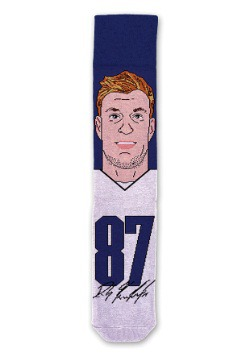 Rob Gronkowski NFL Socks