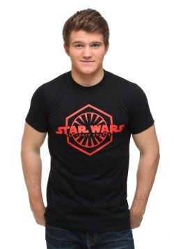Star Wars Episode 7 Logo With First Order Sign T-Shirt