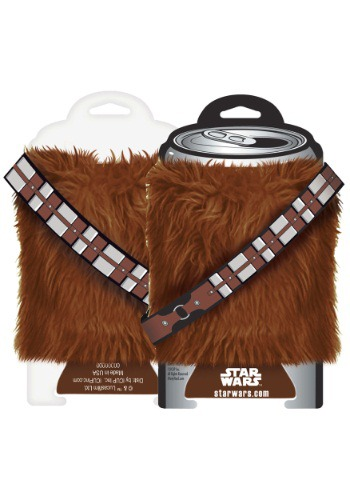 Star Wars Chewbacca Fur Can Koozie