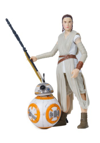 Star Wars Episode 7 Rey (Jakku) and BB8 Black Series Set