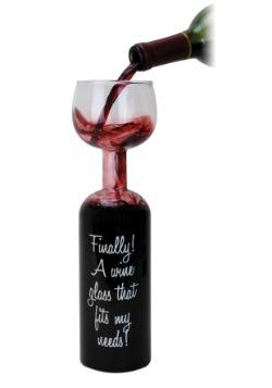 Wine Bottle Glass