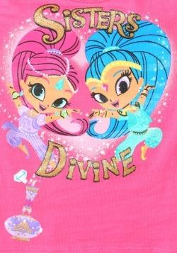 Shimmer & Shine Sisters Divine Girls T-Shirt