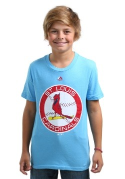 Kids St. Louis Cardinals Cooperstown Official Logo T-Shirt