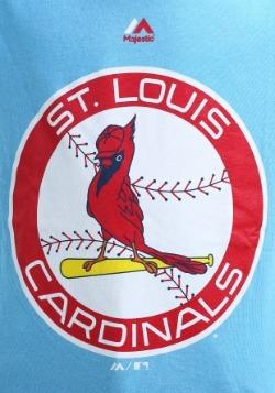 Kids St. Louis Cardinals Cooperstown Official Logo T-Shirt