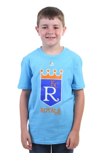 Kansas City Royals Cooperstown Official Logo Kids T-Shirt
