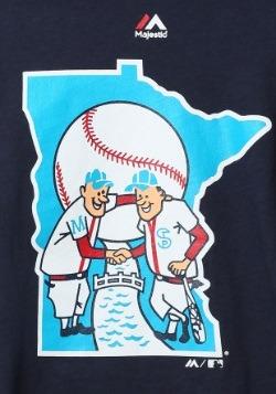 Minnesota Twins Cooperstown Official Logo T-Shirt2