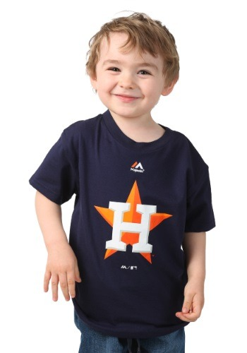 Houston Astros Primary Logo Kids Shirt