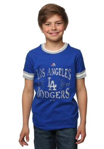Los Angeles Dodgers Round the Bases Kids T-Shirt