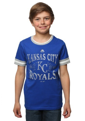 Kansas City Royals Round the Bases Kids T-Shirt