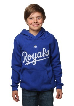 Kansas City Wordmark Twill Fleece Kids Hoodie