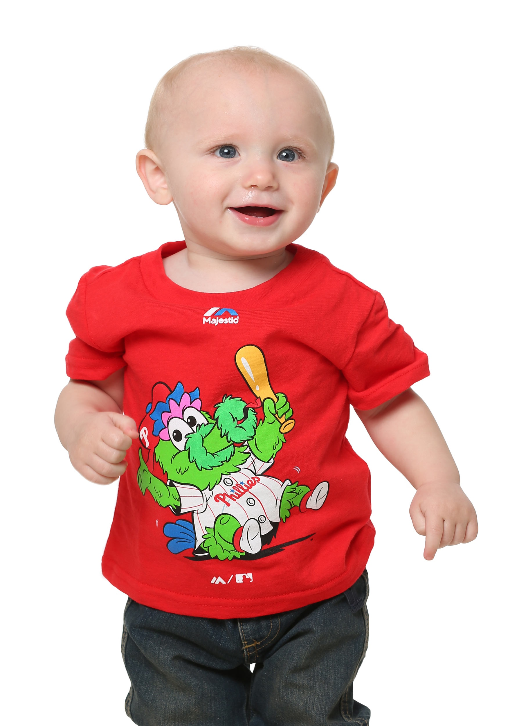 pretty nice d4e44 0919e Philadelphia Phillies Baby Mascot Infant T-Shirt