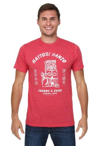 Kill Bill Hattori Hanzo Swords & Sushi Men's Shirt