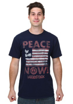 Woodstock Peace Now Mens T-Shirt
