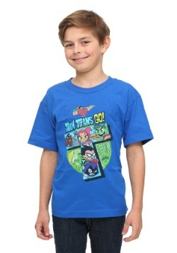 Teen Titans Go! Blue Youth T-Shirt