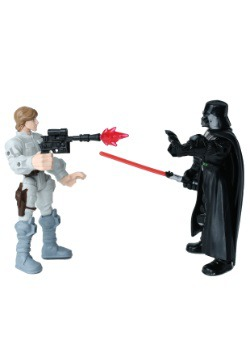 Star Wars Hero Mashers Luke Skywalker vs. Darth Vader