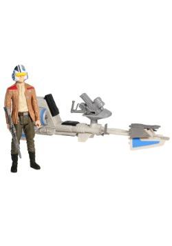 Star Wars Episode 7 Speeder Bike with Poe Dameron Figure2