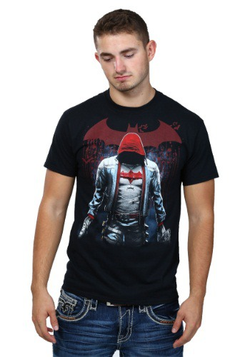 Batman Red Blood Mens T-Shirt