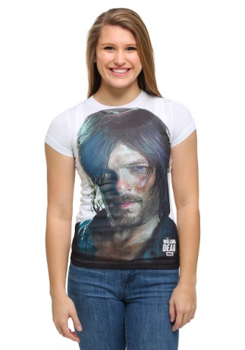 Juniors Daryl Dixon T-Shirt