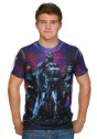 Justice League Galaxy Sublimated Mens Shirt