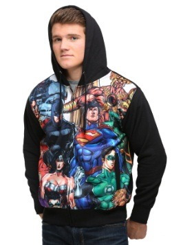 Justice League Group Men's Hoodie2