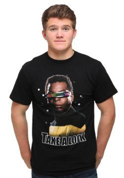 Star Trek Take A Look Men's T-Shirt