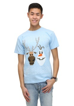 Men's Olaf and Sven Holiday T-Shirt