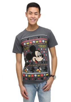 Men's Mickey Mouse Holiday T-Shirt