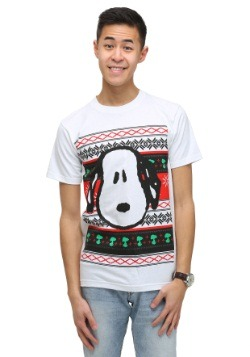 Men's Peanuts Snoopy Holiday T-Shirt