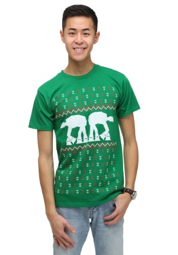 Men's Star Wars AT-AT Holiday T-Shirt