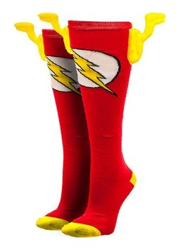 DC Comics Flash Knee High Wing Socks