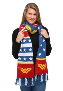 DC Comics Wonder Woman Jacquard Scarf