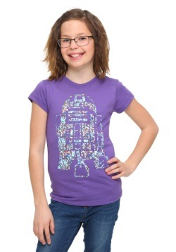 Star Wars Shiny Droid Girls T-Shirt