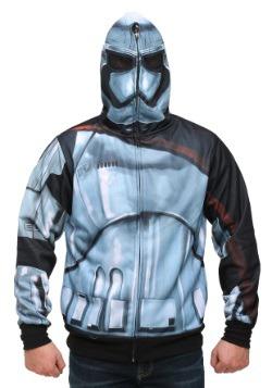 Star Wars Episode 7 Phasma Men's Costume Hooded Sweatshirt
