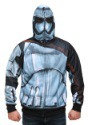 Star Wars Episode 7 Phasma Men's Costume Hooded Sweatshirt
