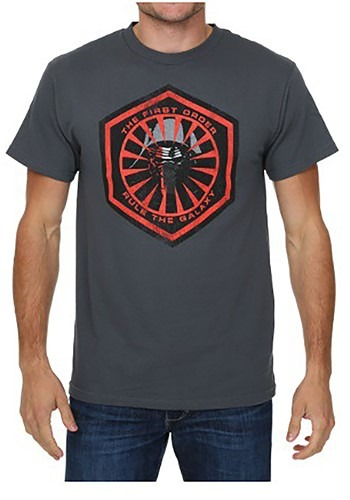 Star Wars Episode 7 The New Fear Logo Mens T-Shirt