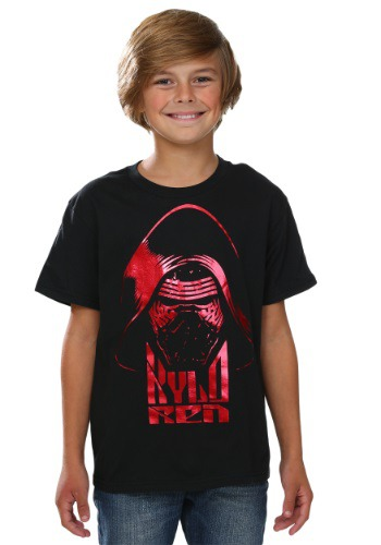 Star Wars Episode 7 Red Foil Ren Boys T-Shirt