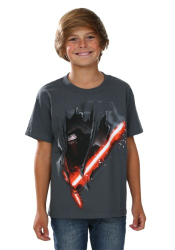 Star Wars Episode 7 Kylo Cut Boys T-Shirt