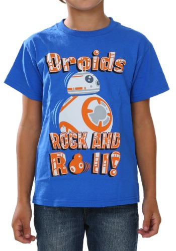 Star Wars Episode 7 BB-8 Roll With It Boys T-Shirt