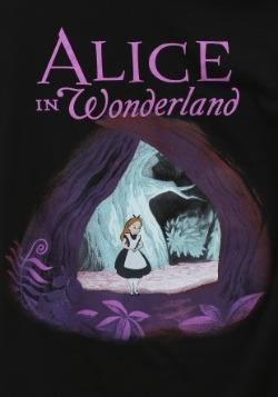 Alice In Wonderland Curiouser Cave Juniors T-Shirt2
