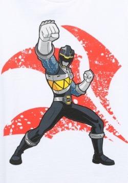 Power Rangers Black Ranger Punch Boys T-Shirt1