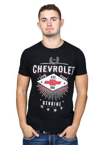 Chevrolet Live Fast Mens Shirt