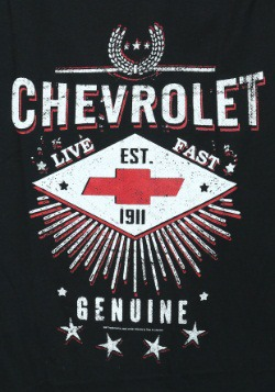 Chevrolet Live Fast Mens Shirt2
