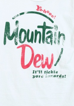 Mountain Dew Vintage Juniors T-Shirt2