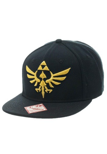 Nintendo Zelda Black Snap Back Hat