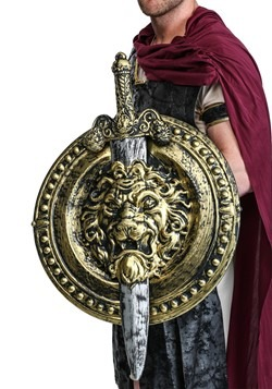 "20"" Gladiator Shield W/ 29"" Sword"