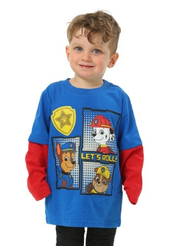 Paw Patrol Lets Roll Toddler Boys Long Sleeve Towf