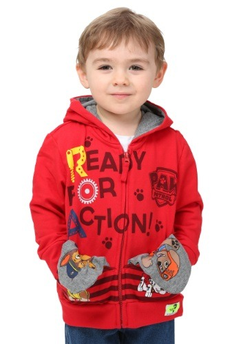 Toddler Paw Patrol Pocket Frenz Hooded Sweatshirt