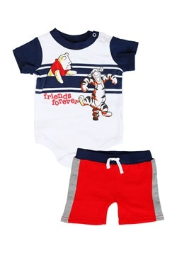 Newborn Winnie the Pooh Creeper with Shorts Set