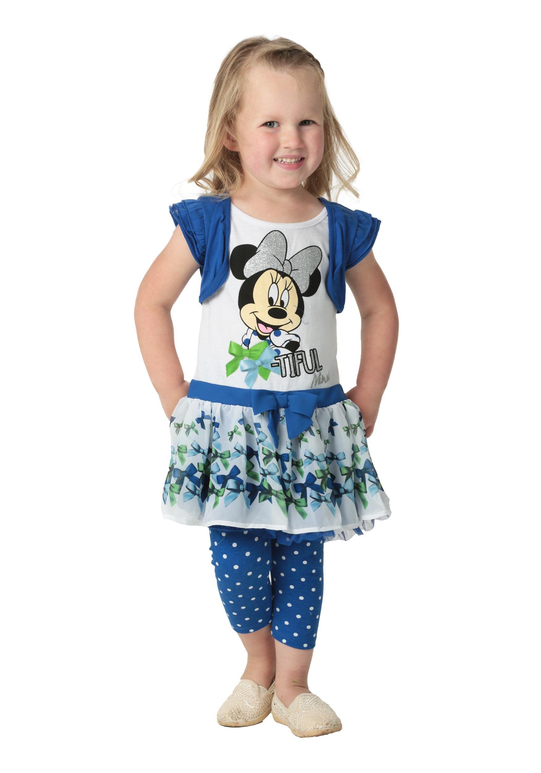Minnie Mouse Girls Blue Top u0026 Leggings ...  sc 1 st  lose it lyrics Fun AU & Different ear piercings