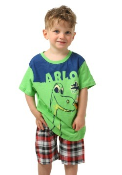 Good Dinosaur Arlo Green Toddler Tee with Paid Shorts